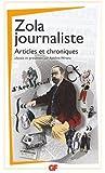 Zola journaliste : Articles et chroniques