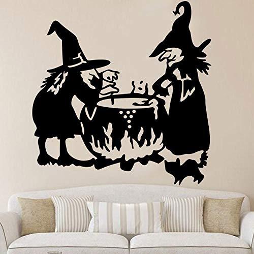 n Zwei Kleine Teufel Wand Decal Suppe Topf Wohnzimmerwand Wandgemälde Aufkleber Art Dekor ()