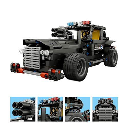 Skryo BB13007 462 STÜCKE DIY Befehl Fahrzeug 2.4G Baustein RC Auto Kinder Spielzeug N7Z9