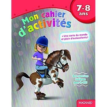 Mon cahier d'activités poney : 7-8 ans