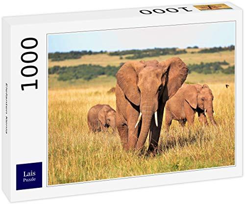 Lais Puzzle Elefantes Kenia 1000 Piezas
