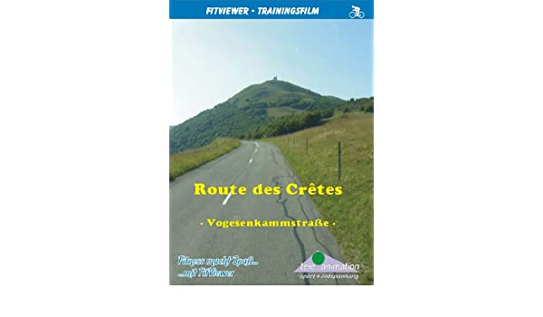 Entfernungsmesser Route : Route des cretes vogesen fitviewer indoor video cycling