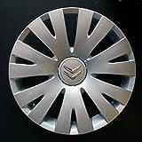 Wheeltrims Set de 4 embellecedores nuevos para Citroen C4 Picasso/C1/C2/C4/C5/C8/Nemo/Berlingo/Xsara Picasso con llantas originales de 15''
