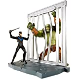 DC Comics Multiverse 4-Inch Arkham City Nightwing and Killer Croc Figure 2-Pack by Mattel