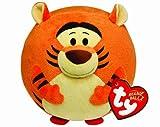 Ty Bola de peluche con diseño de Tigger y sonido, 15 cm, color naranja (United Labels 58100TY)