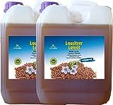 Leinöl 20 Liter (4 X 5 Liter) kaltgepresst ohne Konservierungsstoffe kostenlose Lieferung