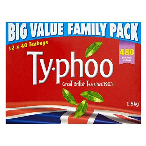 Typhoo Tea 480 Btl. 1500g - Schwarzer Tee