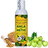 Vriddhi Organic Amla Hair Oil with Methi and Curry Leaves for Hair Growth