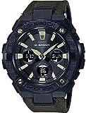 Casio Herren Analog Klassisch Quarz Uhr mit Plastik Armband GST-W130BC-1A3ER
