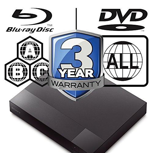 51KSE8Re0EL. SS500  - 2015 SONY BDP-S1700 Multizone All Region Code Free DVD Blu ray Player