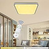 VINGO 50W LED Deckenleuchte Stufenlos Dimmbar Sternenhimmel Wohnzimmerlampe Badleuchte Küchenleuchte Innenleuchte Wandleuchte Wohnzimmer Badezimmer Schlafzimmer Schlafzimmerleuchte Energiespar