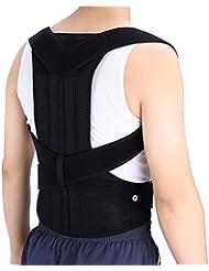 Soporte corrector de espalda para protector la espalda recta refuerzos en la espalda y reducir el dolor lumbar (XL)