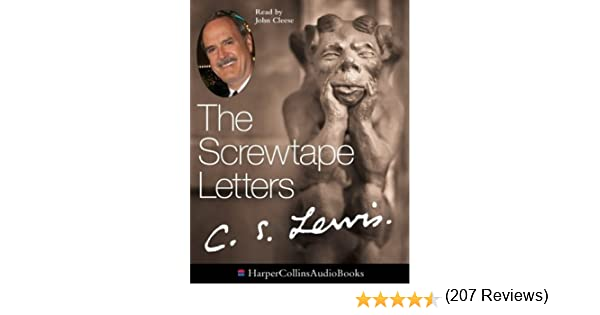 the screwtape letters amazoncouk c s lewis john cleese 9780001071773 books