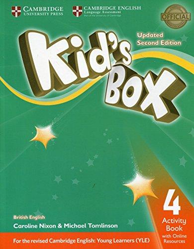 Kid's box. Level 4. Activity book. British English. Per la Scuola elementare. Con e-book. Con espansione online