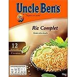 Uncle ben's riz vrac complet 12 min 1 kg - ( Prix Unitaire ) Envoi Rapide Et Soignée