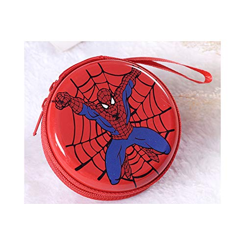 Étui de Transport pour écouteurs Spider Man, Sac de Rangement pour Argent, Mini Pochette pour écouteurs sans Fil Beats Bose, pour la fête des Enfants a