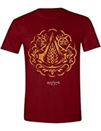 Assassin's Creed - Floral Icon Homme T-Shirt - Rouge