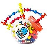 Fat Brain Toys Mini Squigz Toys, Multi Color