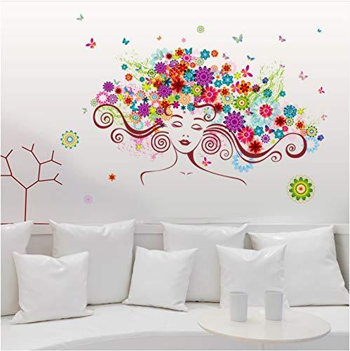 n Kopf Porträt Wandaufkleber Wohnkultur Wohnzimmer Wandaufkleber Für Kinderzimmer Wandtattoo ()