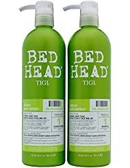 Tigi Bed Head - Shampoing + Après-Shampoing Conditioner - Urban Anti-Dotes Hair Care Re-Energize - 2 x 750ml