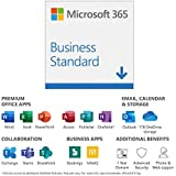 Microsoft 365 Business Standard | Office 365 apps | 1 user | up to 5 PCs/Macs, 5 tablets and 5 phones | 1 year…
