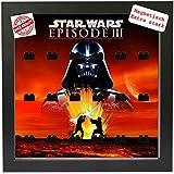 Magnetischer Setzkasten Vitrine Star Wars Episode 3 für LEGO® Minifiguren Pic1