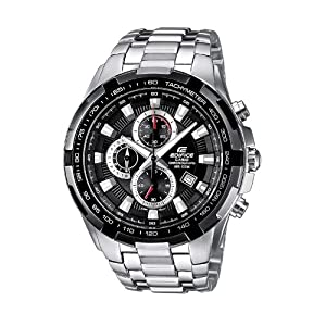 Casio Edifice – Men's Analogue Watch with Solid Stainless Steel Bracelet – EF-539D-1AVEF