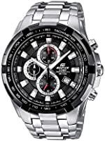 Casio Edifice Men's Quartz Watch with Analogue Display and Stainless Steel Bracelet