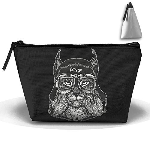 Let's Go Cool Lynx Aviator Trapezoid Receive Bag Storage Bags Home Office Travel Camping Sport Gym Outdoor