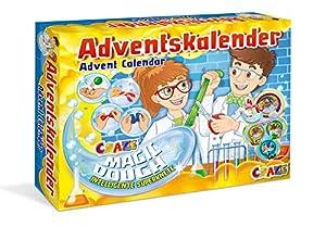 CRAZE Calendario de Adviento MAGIC DOUGH 2019 calendario de plastilina de juguete para niños en Navidad 19399