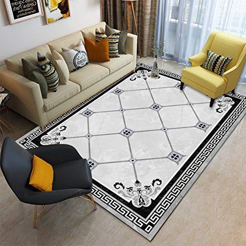 Wohnzimmer Traditionellen Sofa (Loadfckcer Traditionelles Orientalische Teppiche Wohnzimmer Home Decoration Teppiche Sofa Couchtisch Bodenmatte Teppiche,D,140 * 200cm)