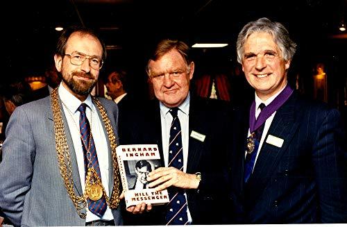 Vintage Photo of Sir Bernard Ingham, Philip Moore and Geoffrey Copeman.