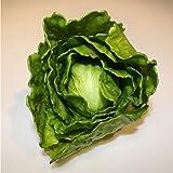 Salade iceberg verte en plastique, 15 cm, Ø 15 cm - Légume artificiel / Salade artificielle - artplants