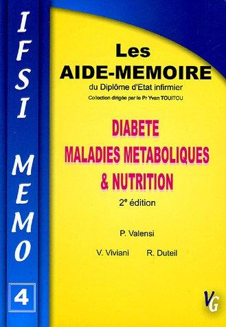 Diabète Maladies métaboliques & Nutrition