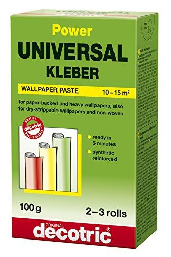 decotric Power Universal Tapeten Kleber, 100 g, 022110026