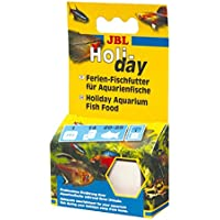 JBL Holiday 40310 Ferien-Alleinfutter für alle Aquarienfische, Futterblock