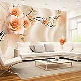 Rureng Benutzerdefinierte Größe 3D Silk Tuch Blumen Fototapeten Floral Rose Wandbild Für Tv Sofa P Wohnzimmer Schlafzimmer Einfache Wohnkultur