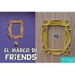 MARCO de FRIENDS con acabado VINTAGE, la serie Friends de tv. ENVIO GRATIS, URGENTE 24-48 horas