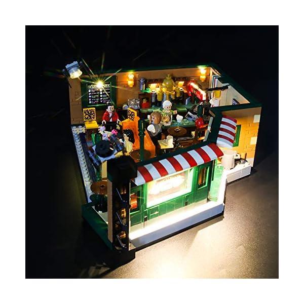 LIGHTAILING Set di Luci per (Ideas Friends Central Perk) Modello da Costruire - Kit Luce LED Compatibile con Lego 21319 (Non Incluso nel Modello) 3 spesavip