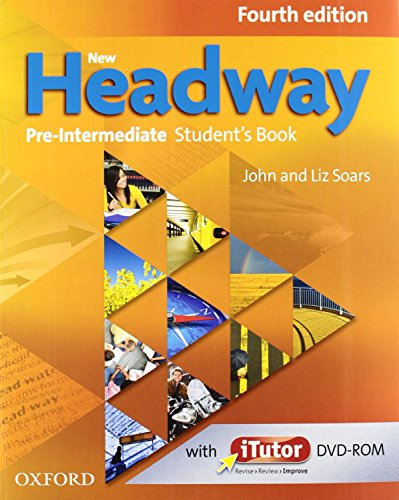 New Headway 4th Edition Pre-Intermediate. Student's Book + Workbook with Key Pack (New Headway Fourth Edition)