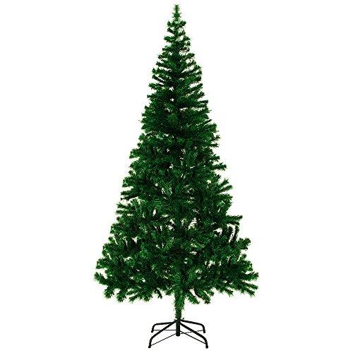 Albero di Natale Artificiale 180 cm 533 rami con Base