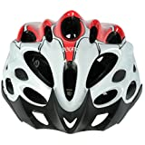 Cockatoo Professional Multi-Colour Cycling Helmet, Skating Helmet (White:Yellow, Medium) (Red:White, Large)