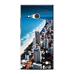 Mobile Back Cover For Microsoft Lumia 730 (Printed Designer Case)