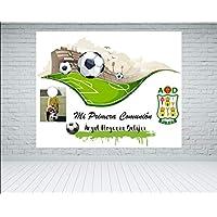 Fondo photocall Comunión Fútbol