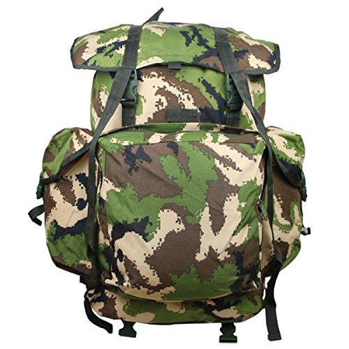 Zaino Camouflage Di Xin.S70L Zaino Portatile Delle Spalle Portatili Zaino Militare Tattico Sacchetto Di Attacco All'aperto Di Sport Campeggio Escursioni. Multicolore B