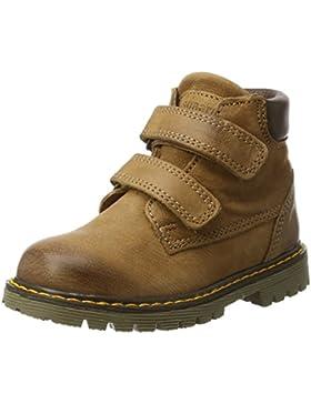 Bisgaard Unisex-Kinder Klettstiefel Combat Boots
