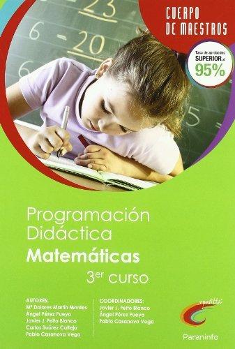 Programación didáctica de educación primaria, área de Matemáticas (2º ciclo, 3º curso) (Cuerpo De Maestros) - 9788428381062