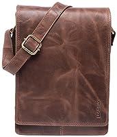 LEABAGS Dover bolso bandolera de auténtico cuero búfalo en el estilo vintage - CrazyVinkat