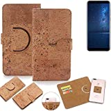 K-S-Trade 360° Cover cork Case for Cubot X18 (2017) |