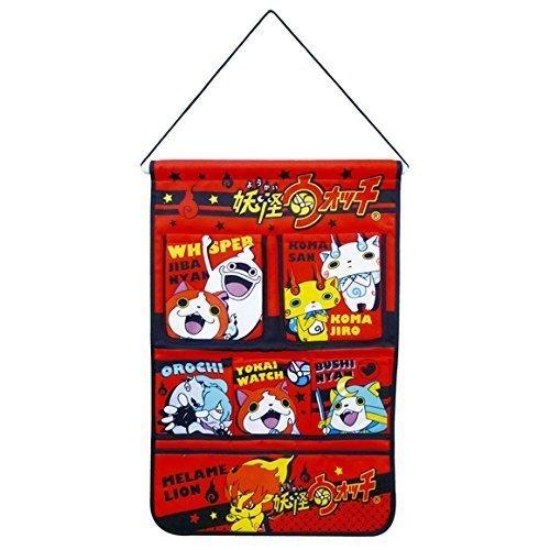 Cas de poche/Accessoire Mural de Montre d'Yokai / rouge